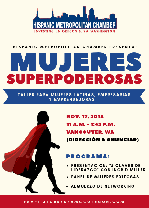 Mujeres Superpoderosas Event Image